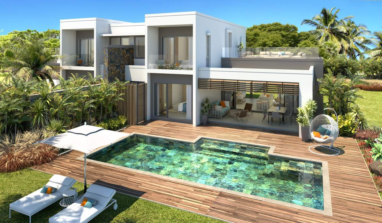 House with pool La Place Belgath