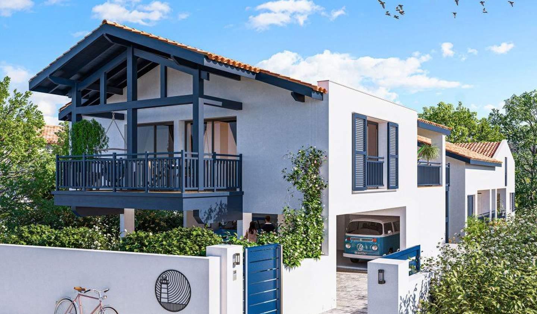 Appartement avec terrasse en bord de mer Ciboure
