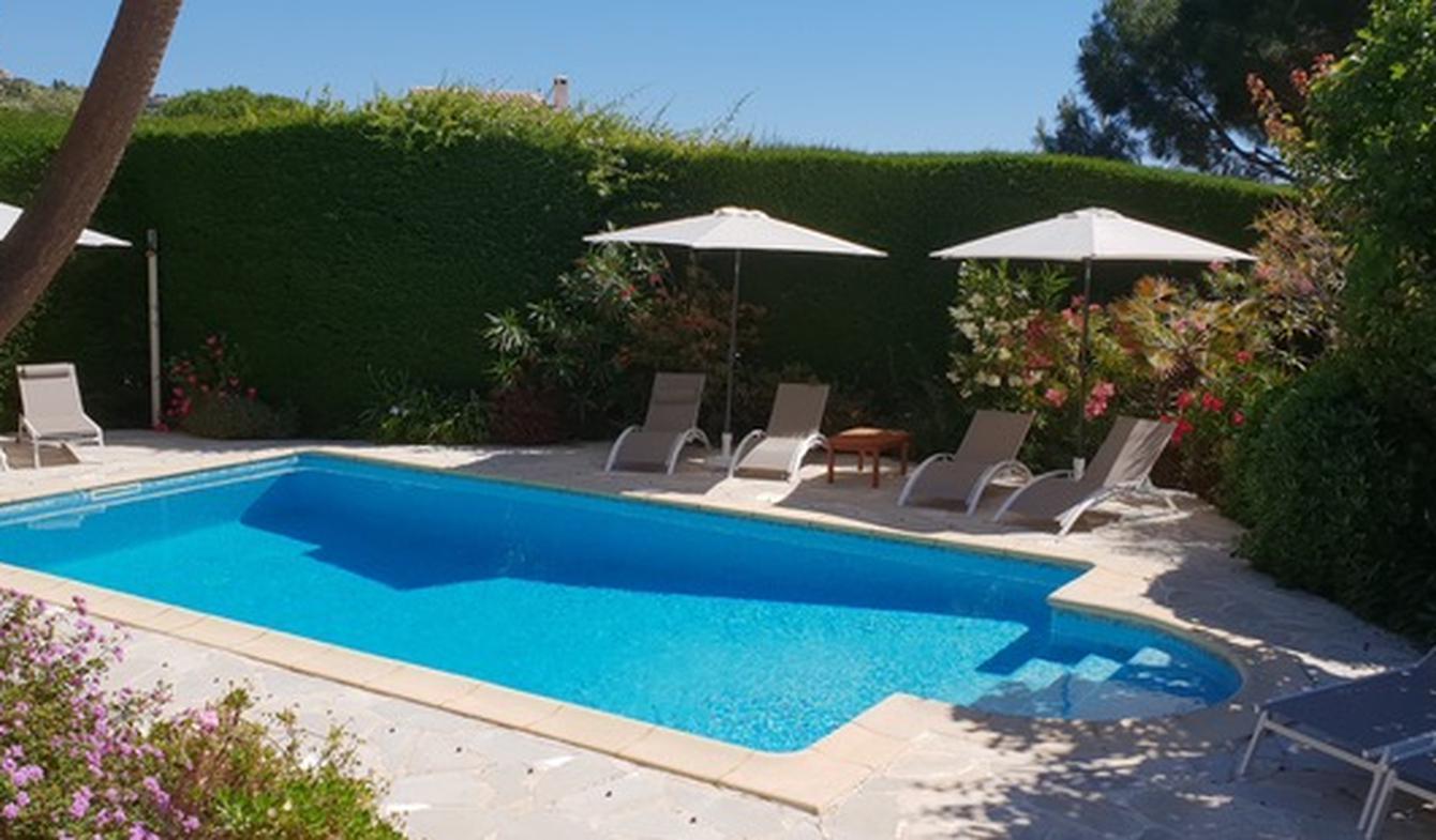 Seaside villa with pool Cavalaire-sur-Mer
