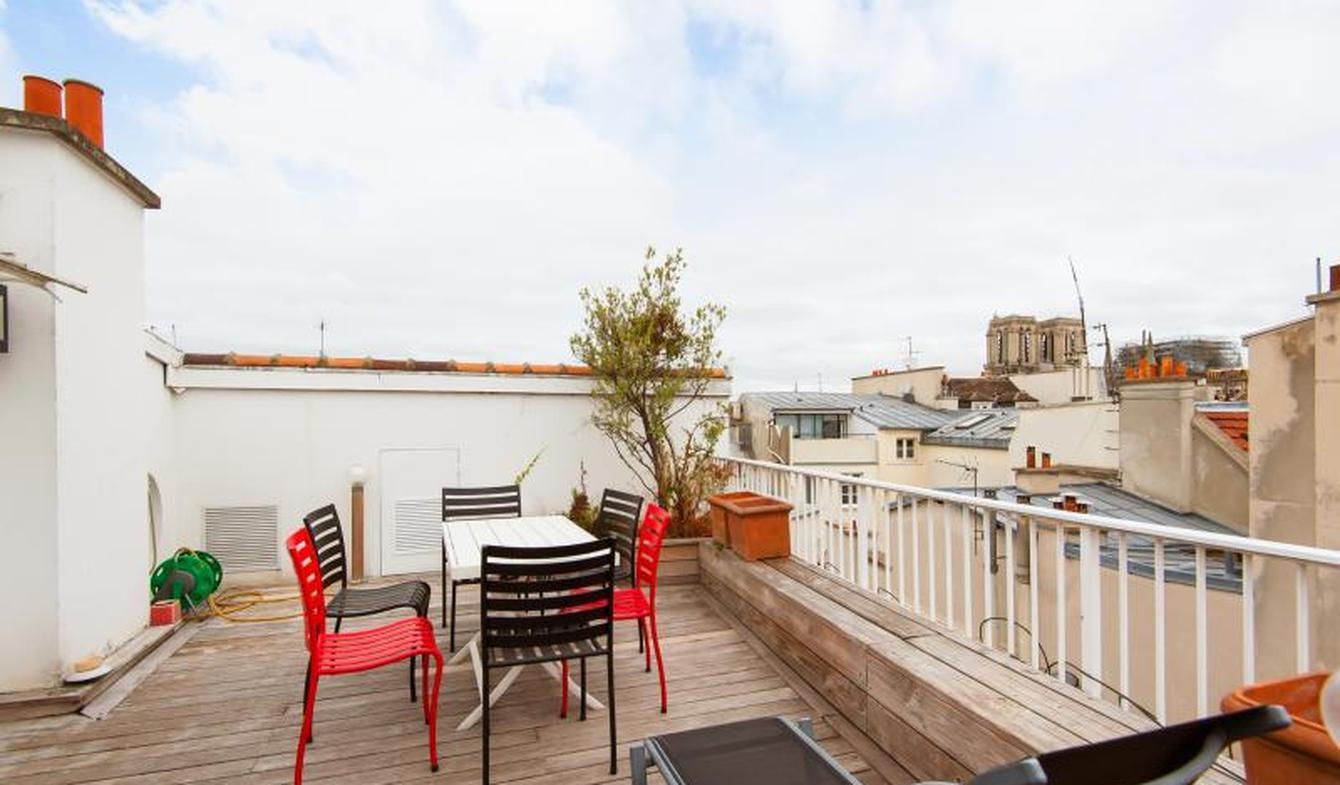 Appartement avec terrasse Paris 5ème