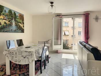 Appartement meublé 3 pièces 58,24 m2