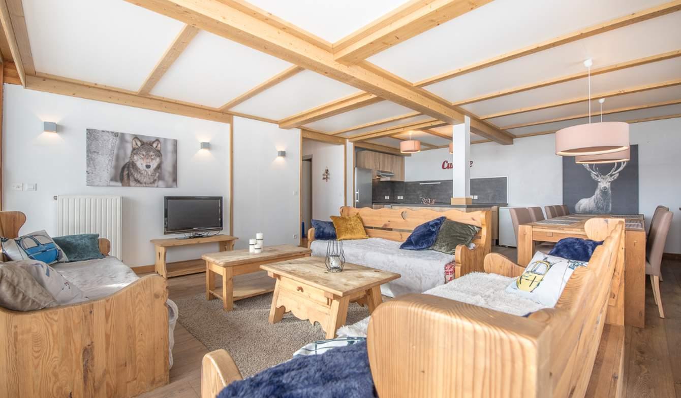 Apartment with terrace Tignes