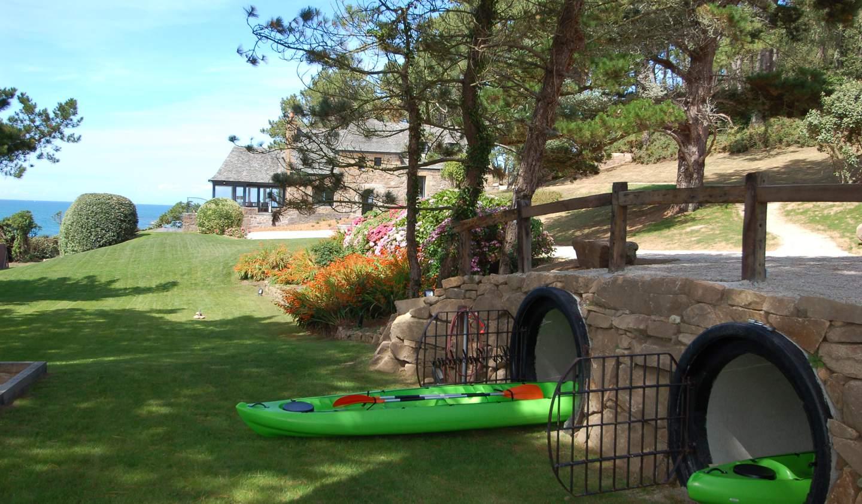 Propriété en bord de mer avec jardin Plougasnou