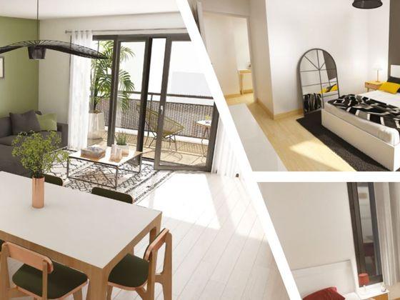 Vente appartement 4 pièces 87,34 m2