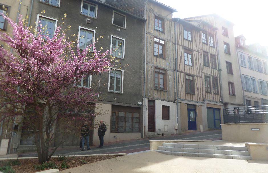 Location meublée studio 1 pièce 18 m² à Limoges (87000), 320 €