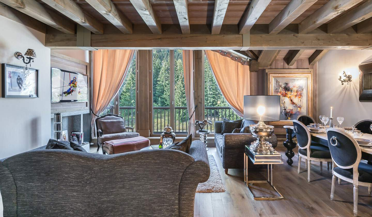 Apartment with pool Courchevel
