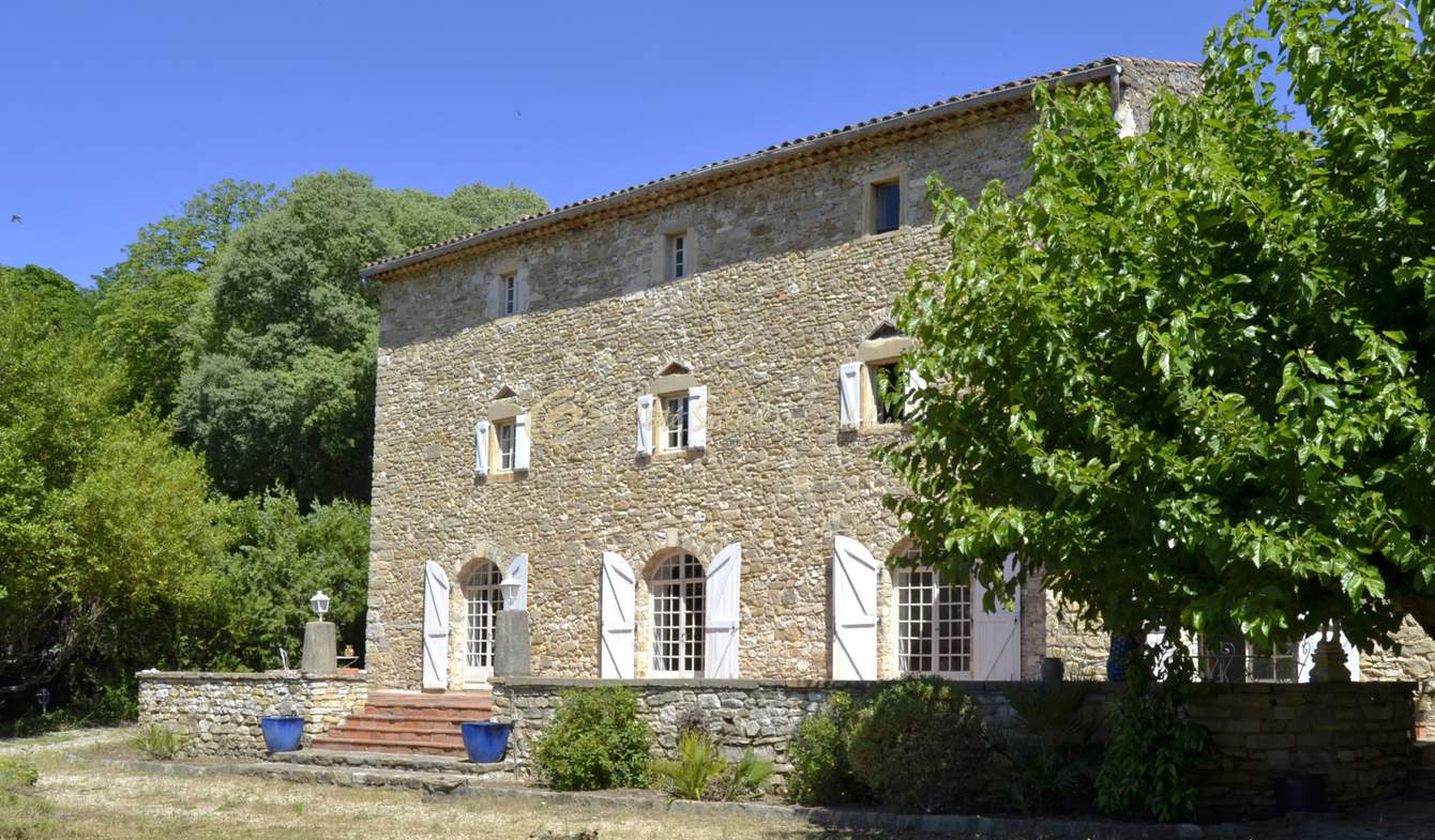 Maison avec terrasse Vezenobres