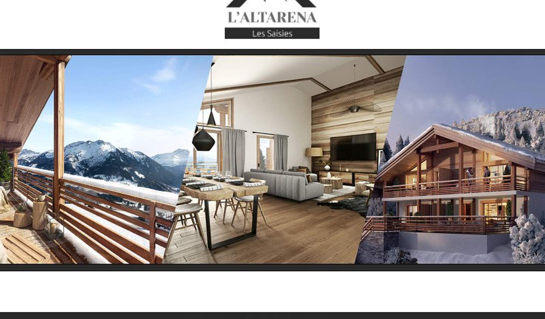Appartement avec terrasse Hauteluce