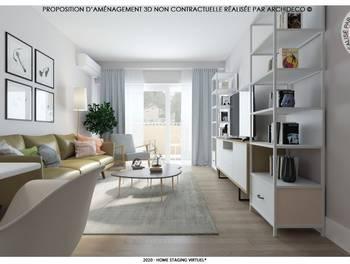 Appartement 2 pièces 54,06 m2