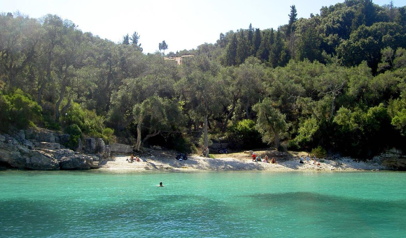 Terrain avec vue panoramique Paxos