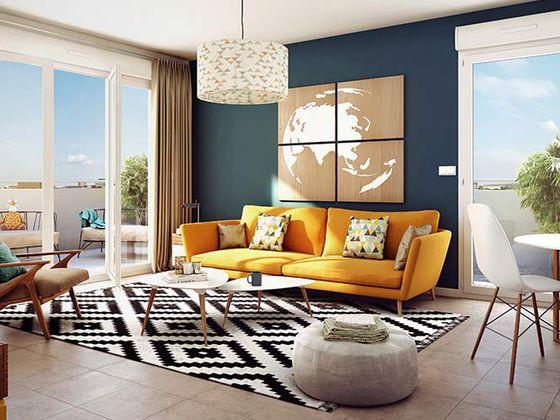 Vente appartement 3 pièces 54,45 m2