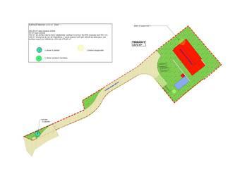 Terrain 1168 m2