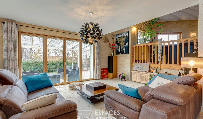 Maison avec piscine et terrasse Cranves-Sales