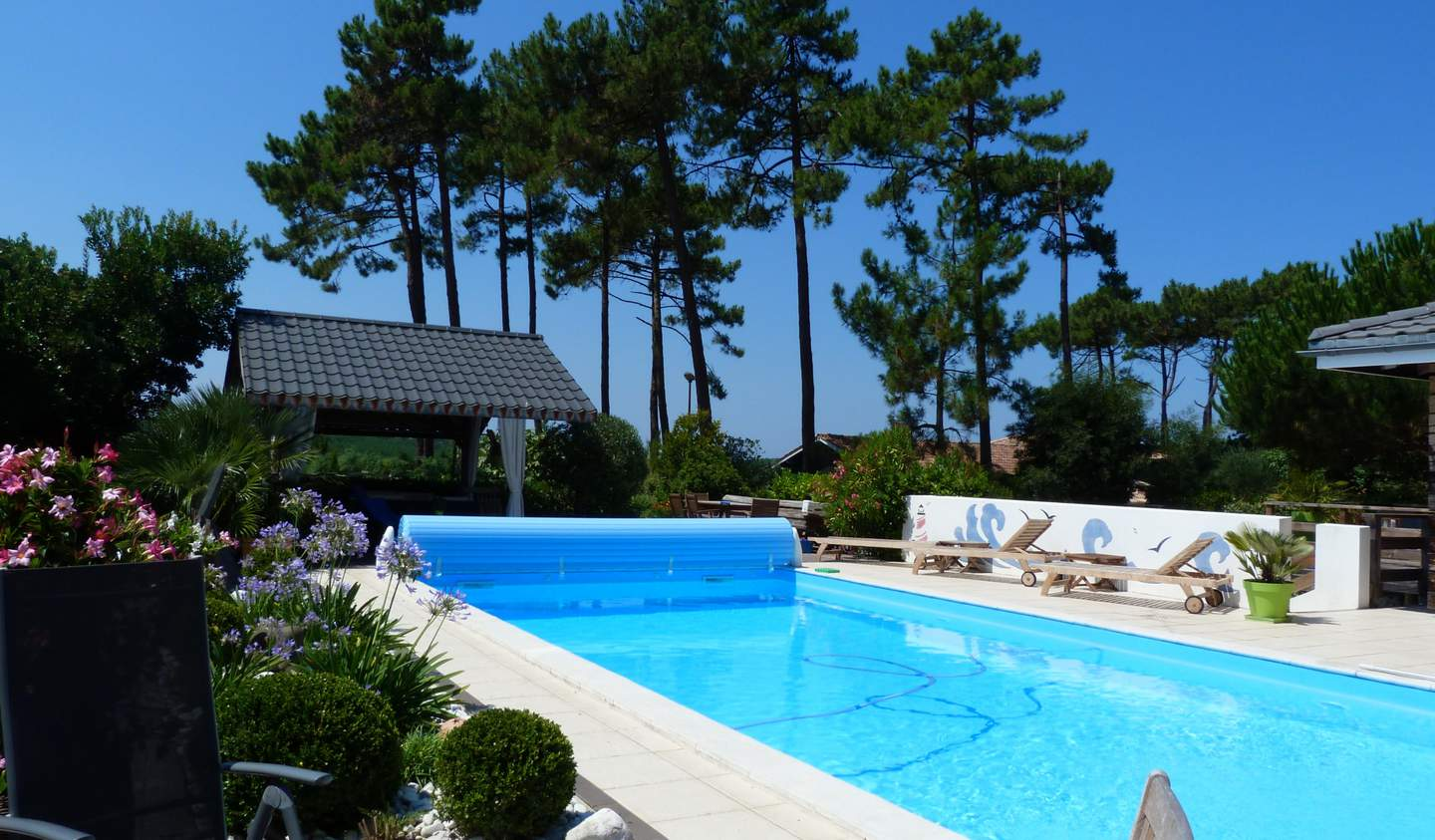 Seaside house with pool Lege-cap-ferret