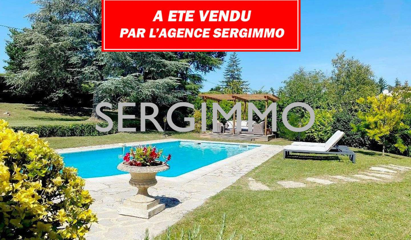 House with pool and terrace Montauroux