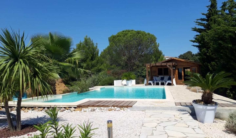 Maison avec piscine et jardin Saint-André-de-Roquelongue