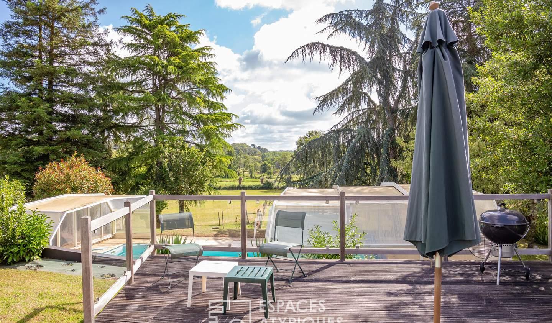 Maison avec terrasse Nyoiseau