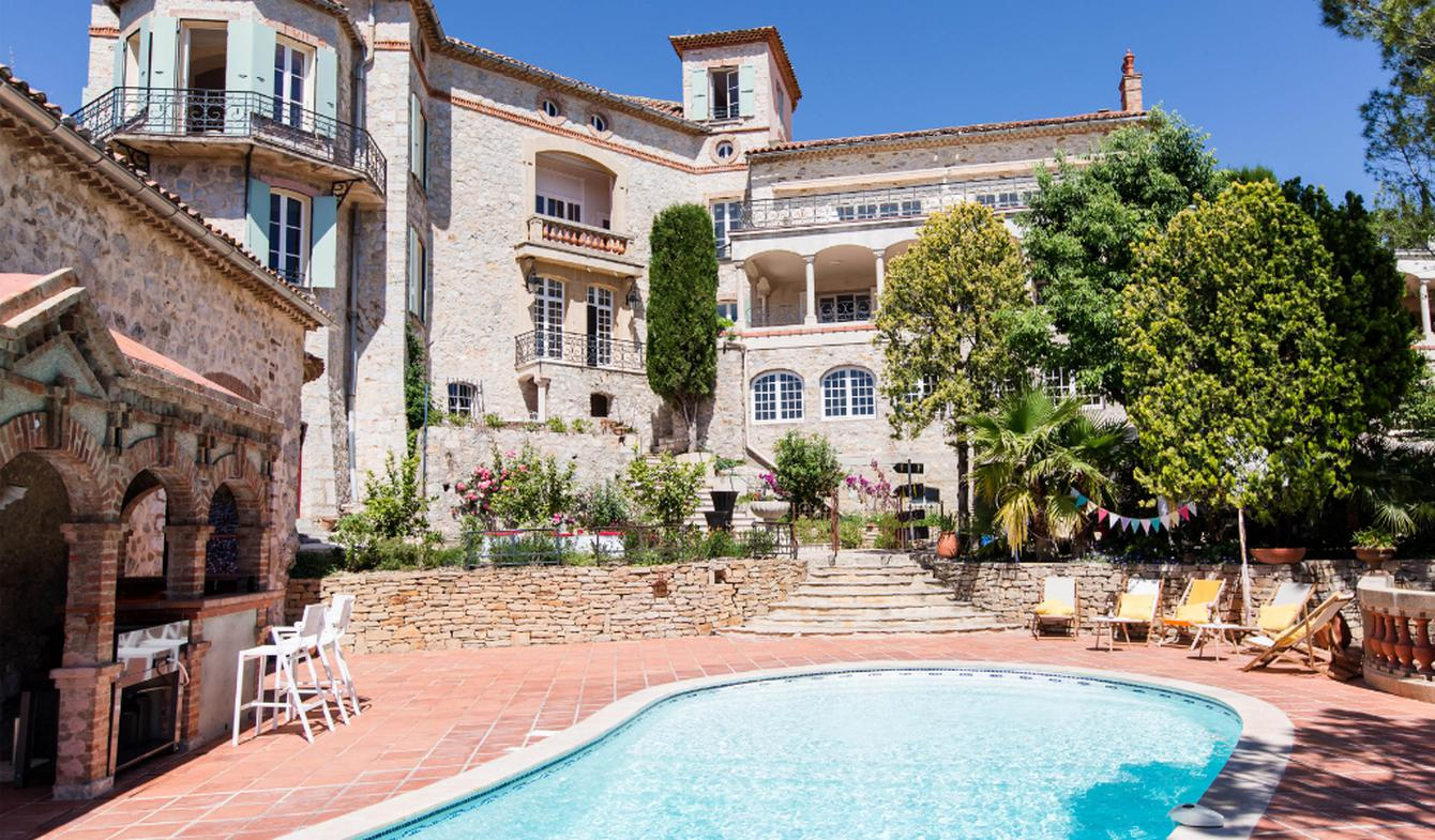 Seaside house with pool Le Castellet