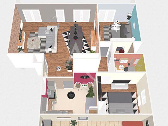 Vente appartement 3 pièces 85,76 m2