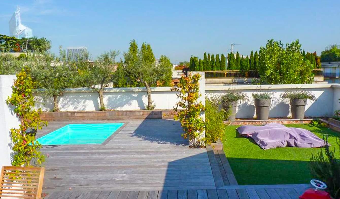 Appartement avec piscine Neuilly-sur-Seine