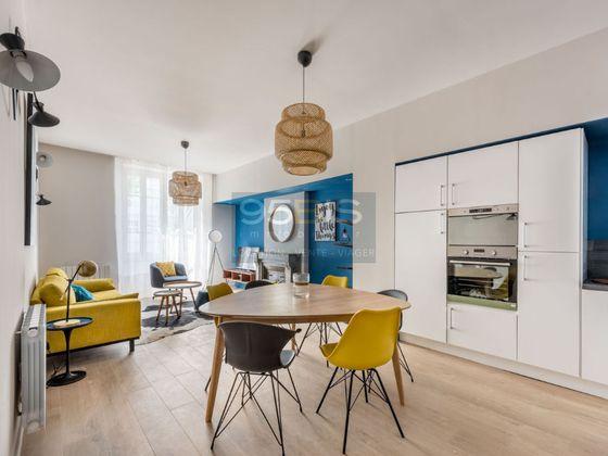 Location appartement meublé 4 pièces 86 m2