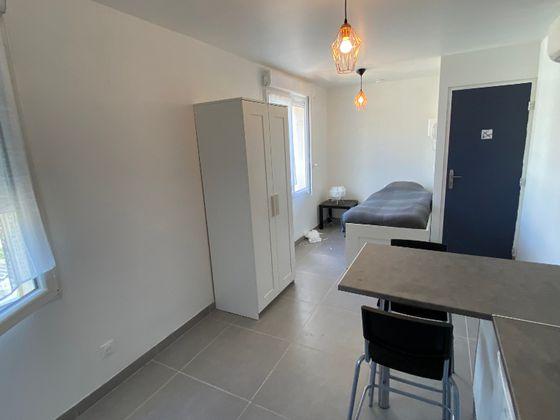 Location studio meublé 17,62 m2