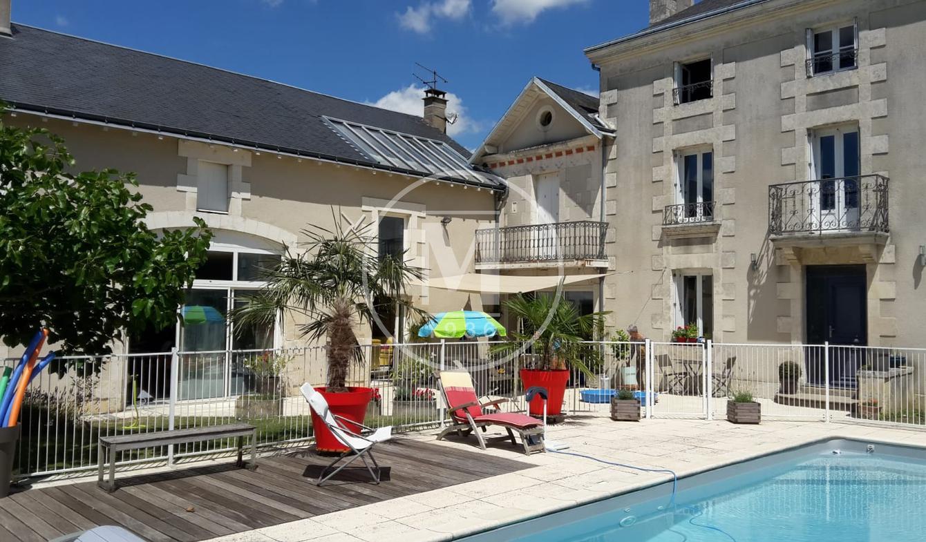 Maison avec piscine et terrasse Saint-benoit