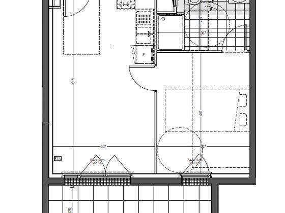 Vente appartement 2 pièces 38,27 m2