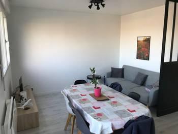 Appartement meublé 2 pièces 45,92 m2