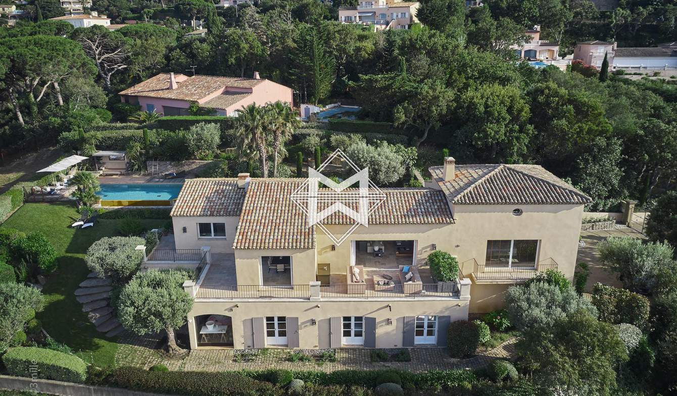 Villa with pool Gassin