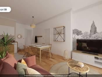 Appartement 2 pièces 35,47 m2