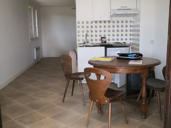 Location studio meublé 28,2 m2