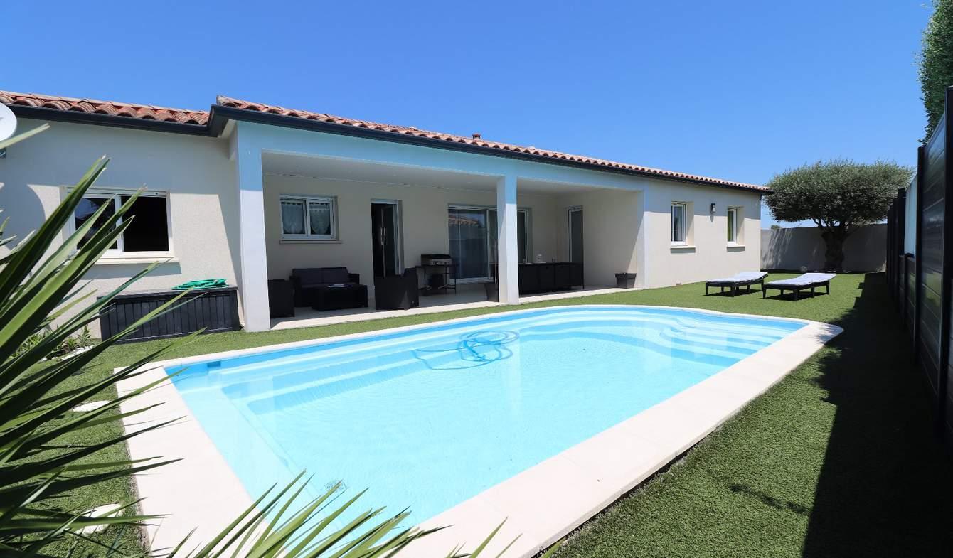Villa avec piscine et terrasse Bouzigues
