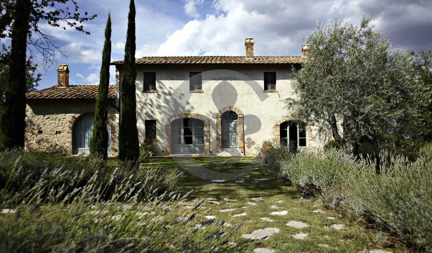 Farm house with garden and pool Cetona