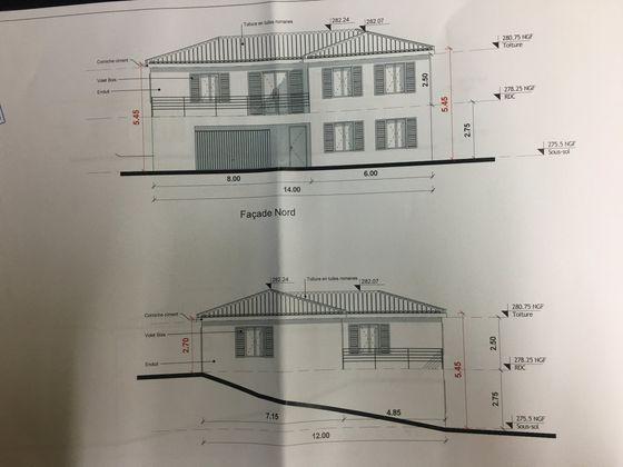 Vente terrain à bâtir 859 m2