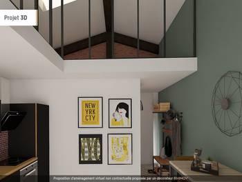 Appartement 2 pièces 58,3 m2
