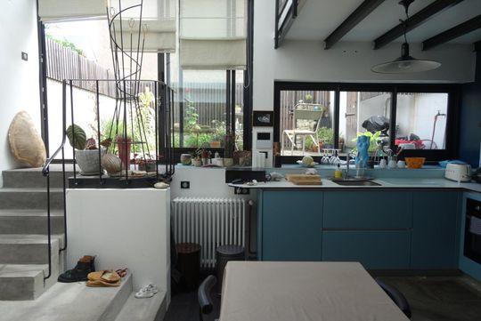 Maison contemporaine avec terrasse