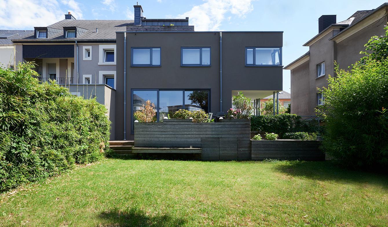 Maison contemporaine avec jardin et terrasse Luxembourg