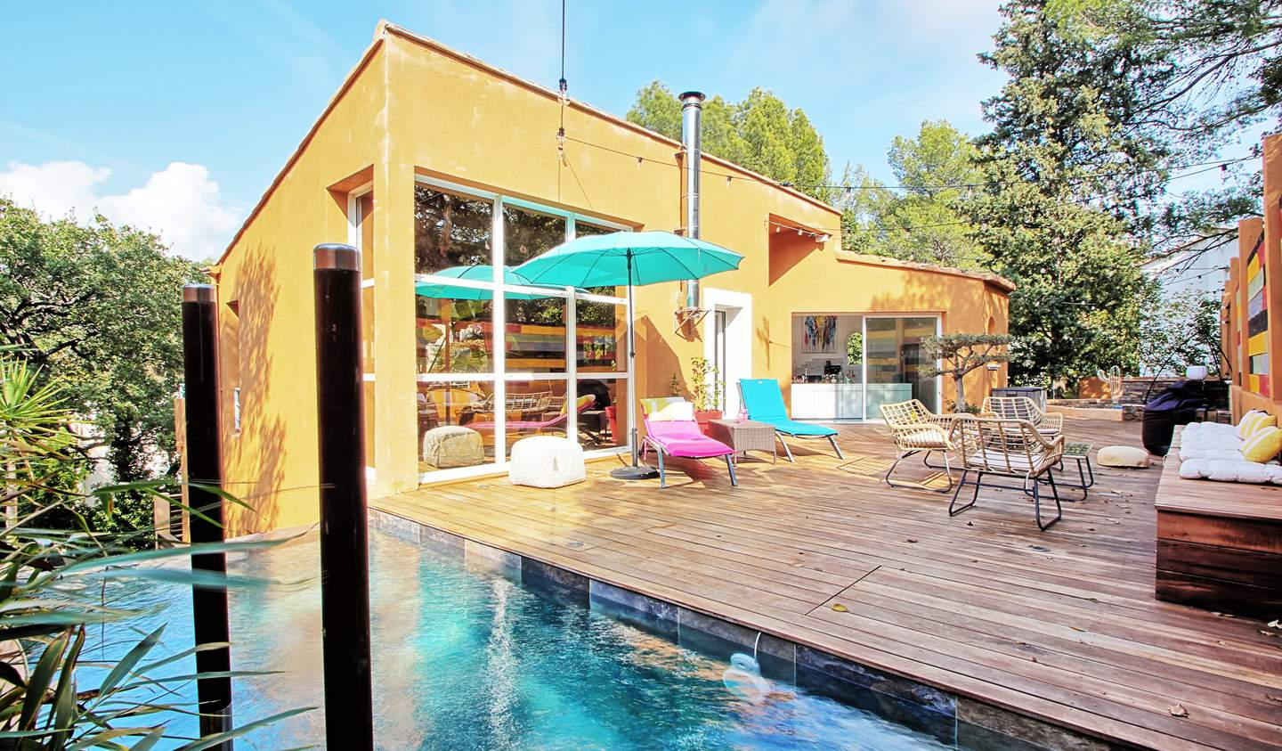 Villa with pool and terrace Le Pradet