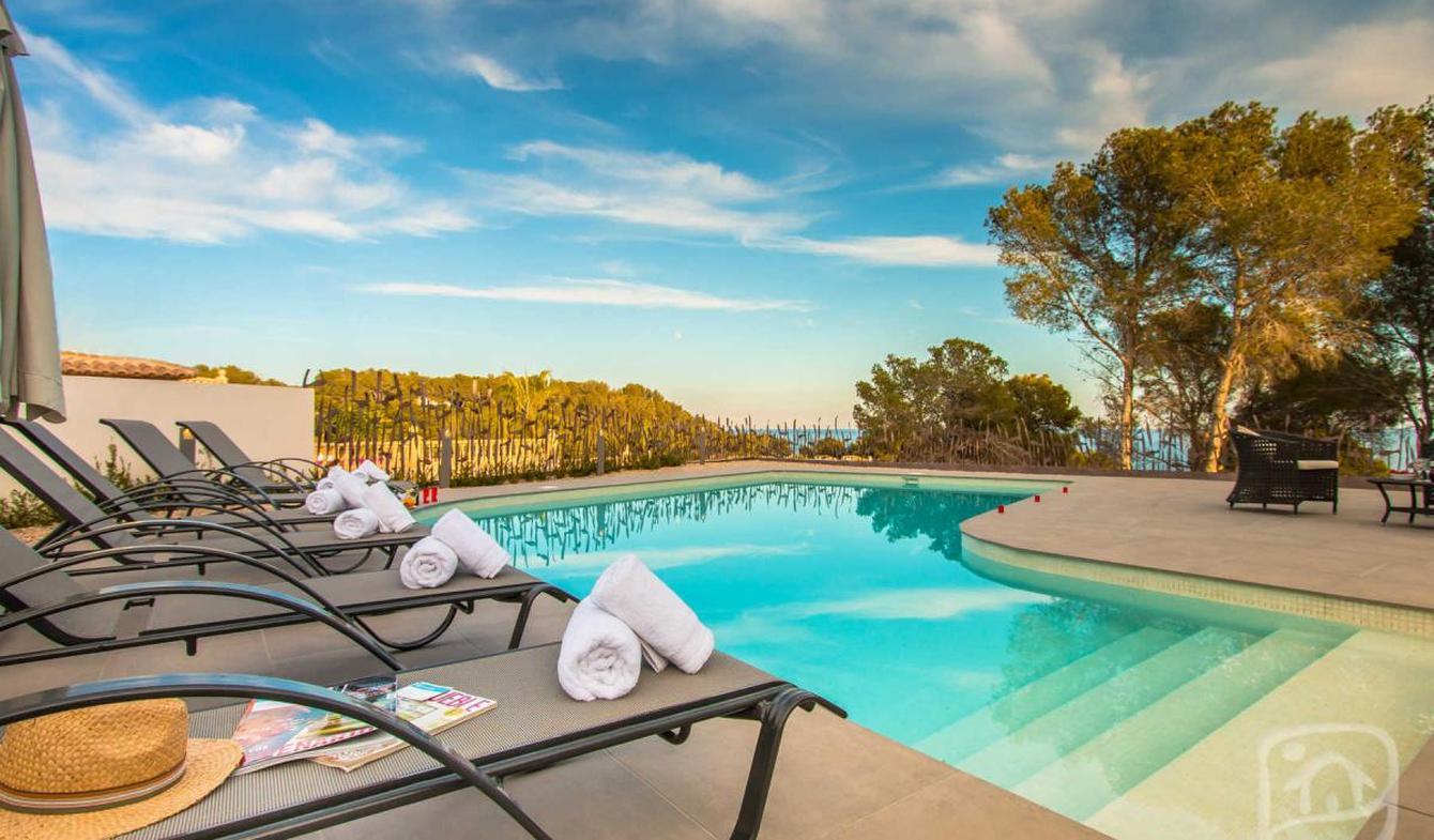 Villa avec piscine et jardin Benissa