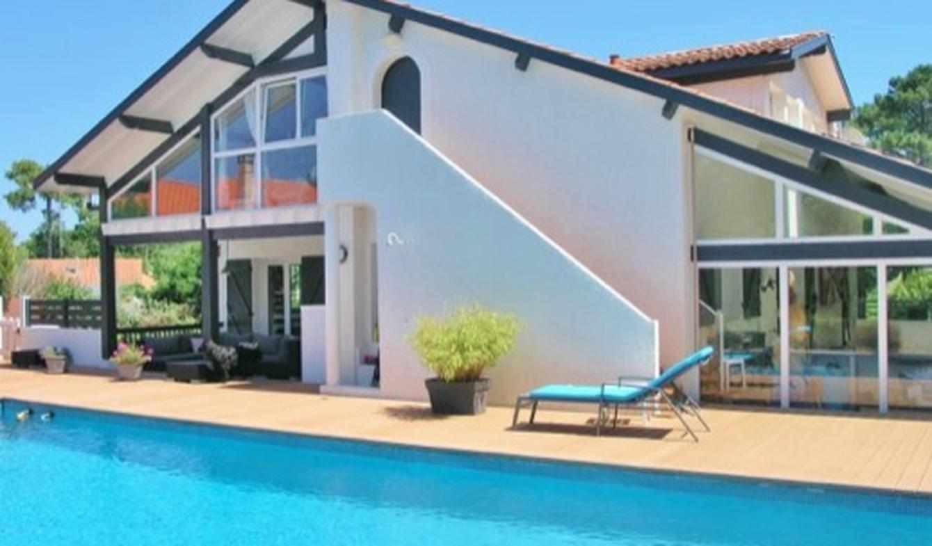 Villa avec piscine et jardin Capbreton