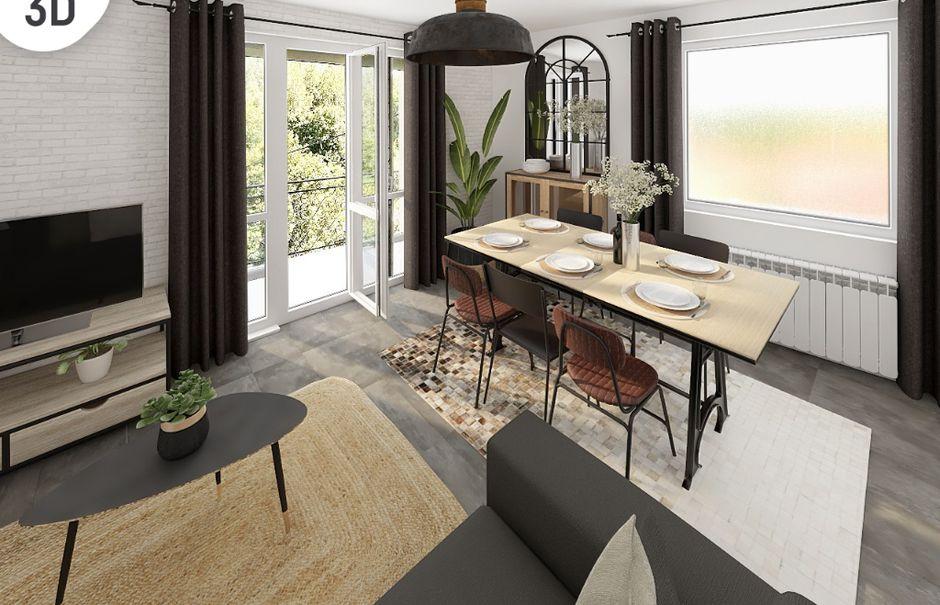 Vente appartement 4 pièces 69.78 m² à Jardin (38200), 195 000 €