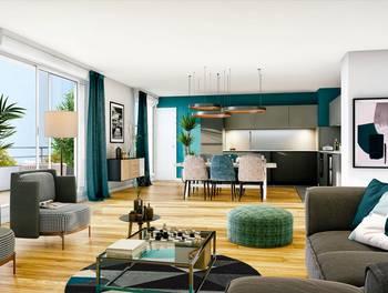 Appartement 2 pièces 45,42 m2