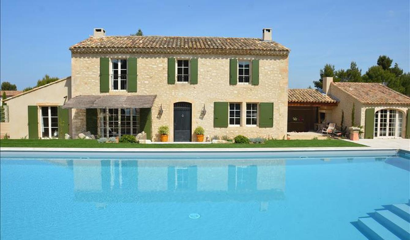 Maison avec piscine et jardin Eygalières