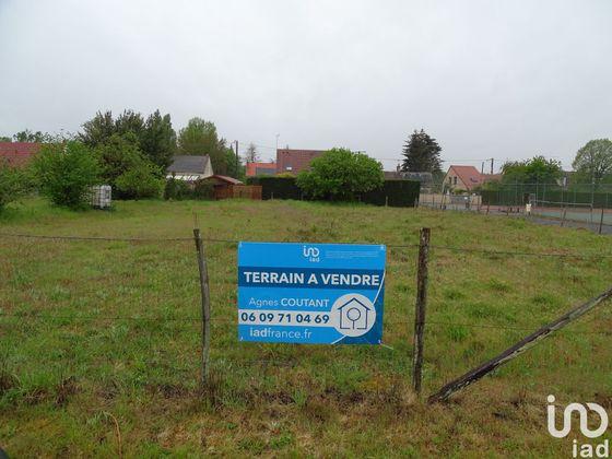 Vente terrain 750 m2