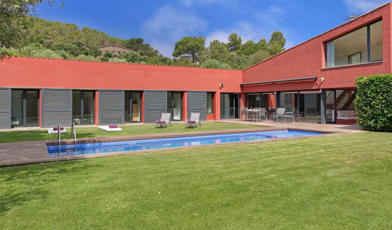Villa avec piscine et jardin Mont-ras