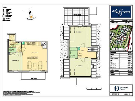 Vente appartement 4 pièces 78,8 m2