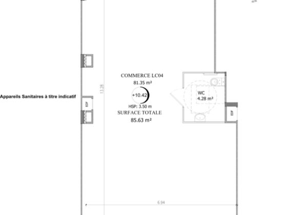 Vente divers 85 m2
