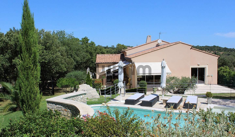 Villa avec piscine et terrasse Vezenobres