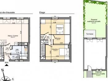 Maison 3 pièces 68,8 m2